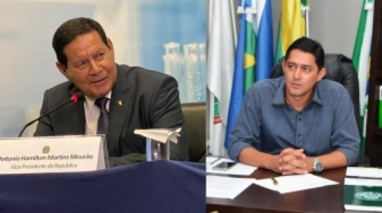 Claudio Oliveira - Presidente da UNPAV se reunirá com Vice-presidente Hamilton Mourão nesta quarta-feira (19)