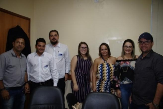 Vereadores da Câmara de Querência e servidores visitam Câmara de Barra do Garças