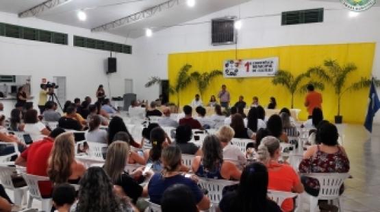 Vereador Telmo Brito participa da I conferência Municipal de Cultura de Querência.