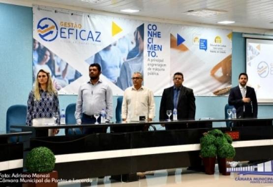 Presidente Edclay Coelho participa do programa Gestão Eficaz