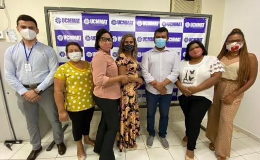 Vereadoras da Câmara de Dom Aquino visitam UCMMAT