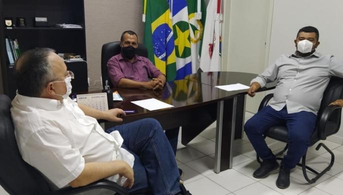 Visita do ex-governador, Pedro Taques